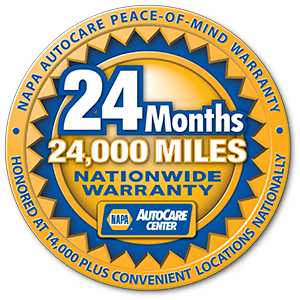NAPA Nationwide Warrany
